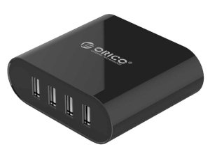 پاور هاب 4 پورت اوریکو Orcio 4 Port USB Smart Desktop Charger DCH-4U