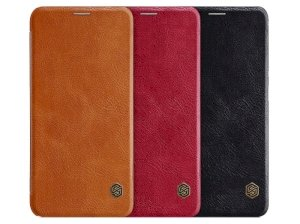 کیف چرمی نیلکین شیائومی Nillkin Qin Leather Case Xiaomi Mi 8