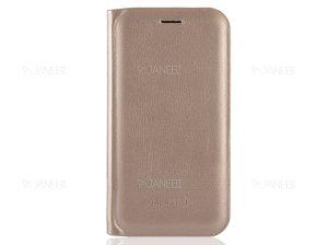 کیف چرمی سامسونگ Samsung Galaxy J5 Flip Cover