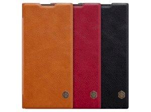 کیف چرمی نیلکین سونی Nillkin Qin Leather Case Sony XA2 Plus