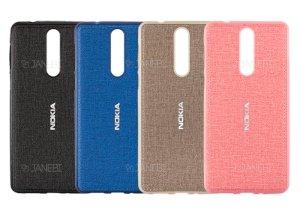 قاب محافظ طرح پارچه ای نوکیا Protective Cover Nokia 8