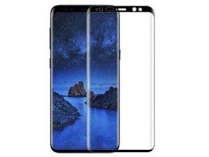 محافظ صفحه نمایش شیشه ای تمام چسب سامسونگ Full Glass Screen Protector Samsung Galaxy S9