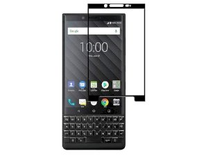 محافظ صفحه نمایش شیشه ای بلک بری Full Glass Screen Protector BlackBerry KEY2