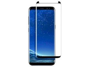محافظ صفحه نمایش شیشه ای تمام چسب سامسونگ Benovo 3D Glass Samsung Galaxy S9 Plus