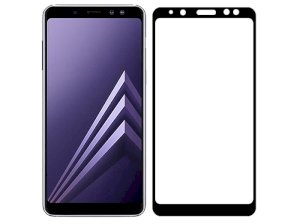 محافظ صفحه نمایش شیشه ای سامسونگ Full Glass Screen Protector Samsung Galaxy A8 Plus 2018