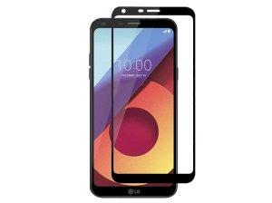 محافظ صفحه نمایش شیشه ای تمام صفحه ال جی Full Glass LG Q6
