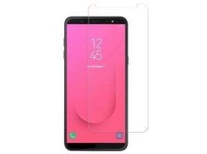 محافظ صفحه نمایش شیشه ای سامسونگ Glass Screen Protector Samsung Galaxy J8