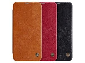 کیف چرمی نیلکین سامسونگ Nillkin Qin Leather Case Samsung J4 Plus