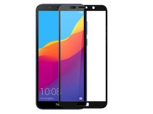 محافظ صفحه نمایش شیشه ای تمام چسب هواوی Full Glass Screen Protector Huawei Honor 7S