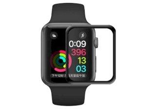 محافظ صفحه نمایش شیشه ای تمام چسب اپل واچ Glass Full Glue Apple Watch 44mm