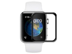 محافظ صفحه نمایش شیشه ای تمام صفحه اپل واچ Glass Apple Watch 40mm