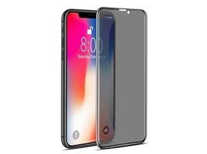 محافظ صفحه نمایش شیشه ای تمام چسب حفظ حریم شخصی آیفون Privacy Full Glass Screen Protector Apple iphone X
