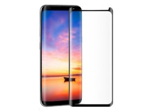 محافظ صفحه نمایش شیشه ای تمام چسب سامسونگ Full Glass Screen Samsung Galaxy S8 Plus