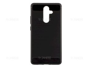 محافظ ژله ای نوکیا Carbon Fibre Case Nokia 7 plus