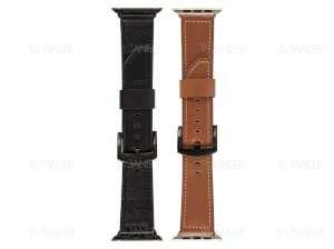 بند چرمی اپل واچ Apple Watch Leather Band 42mm/44mm
