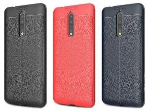 قاب ژله ای طرح چرم نوکیا Becation Auto Focus Case Nokia 8