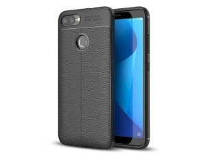 قاب ژله ای طرح چرم ایسوس Becation Auto Focus Jelly Case Asus Zenfone Max Plus (M1) ZB570TL