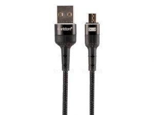 کابل چرمی میکرو یو اس بی ارلدام Earldom Micro USB Cable EC-050M 1m