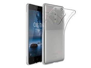 محافظ ژله ای 5 گرمی نوکیا Nokia 8 Jelly Cover 5gr