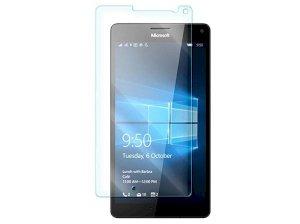 محافظ صفحه نمایش شیشه ای مایکروسافت Glass Screen Protector Microsoft Lumia 950 XL