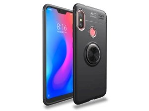 قاب ژله ای حلقه دار شیائومی Becation Finger Ring Case Xiaomi Redmi 6 Pro/ Mi A2 Lite