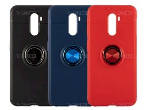 قاب ژله ای حلقه دار شیائومی Becation Finger Ring Case Xiaomi Pocophone F1