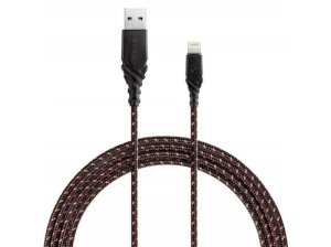 کابل شارژ سریع و انتقال داده لایتنینگ انرژیا Energea DuraGlitz Cable Lightning 1.5M