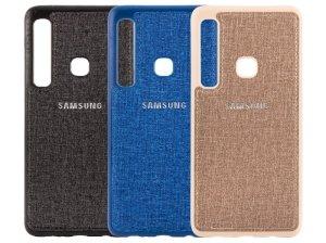قاب محافظ طرح پارچه ای سامسونگ Protective Cover Samsung Galaxy A9 2018