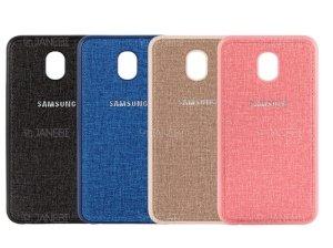 قاب محافظ طرح پارچه ای سامسونگ Protective Cover Samsung Galaxy J7 Pro
