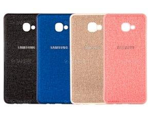 قاب محافظ طرح پارچه ای سامسونگ Protective Cover Samsung Galaxy J4 Plus
