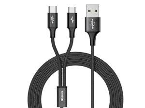 کابل دو سر بیسوس Baseus Rapid Series 2 In 1 Cable