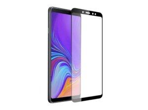 محافظ صفحه نمایش شیشه ای تمام چسب سامسونگ Full Glass Screen Protector Samsung Galaxy A9 2018