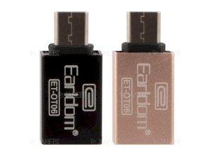 مبدل تایپ سی به یو اس بی  ارلدام Earldom Type-C OTG USB Flash Driver