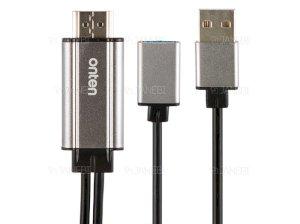 کابل مبدل یو اس بی به اچ دی ام آی Onten USB to HDMI Cable