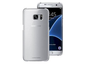 قاب محافظ اصلی سامسونگ  Almus Clear Rubber Case Samsung Galaxy S7 edge