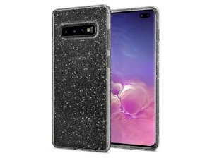 محافظ ژله ای اسپیگن سامسونگ Spigen Liquid Crystal Glitter Case Samsung Galaxy S10 Plus