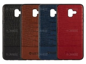 قاب چرمی سامسونگ Lishen Leather Case Samsung Galaxy J6 Plus