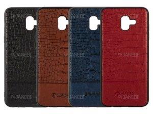 قاب چرمی سامسونگ Lishen Leather Case Samsung Galaxy J6 Plus