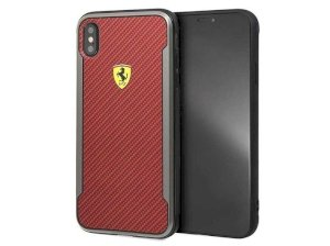 قاب محافظ آیفون CG Mobile Ferrari Carbon Fiber Case iPhone XS Max