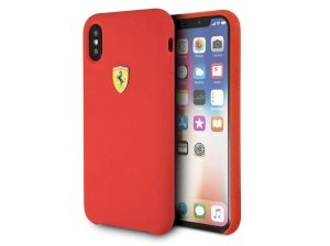 قاب سیلیکونی آیفون CG Mobile Ferrari Silicone Case iPhone XS Max