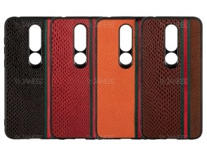 قاب چرمی نوکیا Shell Road Elegant Case Nokia 6.1 Plus /Nokia X6