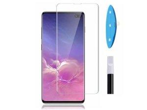 محافظ صفحه نمایش شیشه ای یو وی سامسونگ UV Nano Glass Samsung Galaxy S10