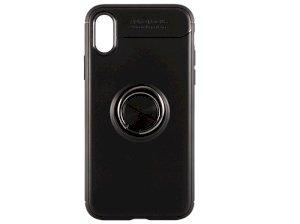 قاب ژله ای حلقه دار آیفون Becation Finger Ring Case Apple iPhone X/XS