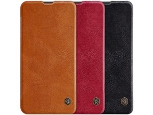 کیف چرمی نیلکین سامسونگ Nillkin Qin leather case Samsung Galaxy A10