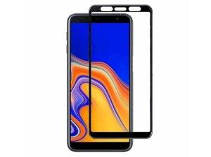 محافظ صفحه نمایش شیشه ای تمام چسب سامسونگ Tempered Glass Samsung Galaxy A6 Plus/ A8 Plus