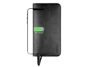 پاور بانک و کیف چرمی Zhuse ZS-PB-024 6800mAh Power Bank And Leather Bag