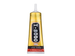 چسب مایع همه کاره Zhanlida Clear T8000 Glue 110ml