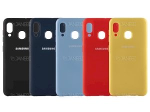 قاب محافظ سیلیکونی Samsung Galaxy A30 Silicone Case