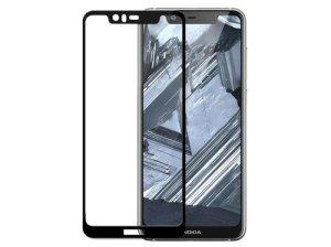 محافظ صفحه نمایش شیشه ای تمام چسب نوکیا Nixo Full Glue Glass Nokia 5.1 Plus/X5
