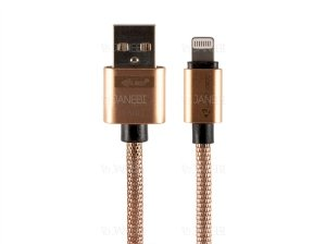 کابل فلزی لایتنینگ Kuke Design E56 Lightning Metal Cable 1m